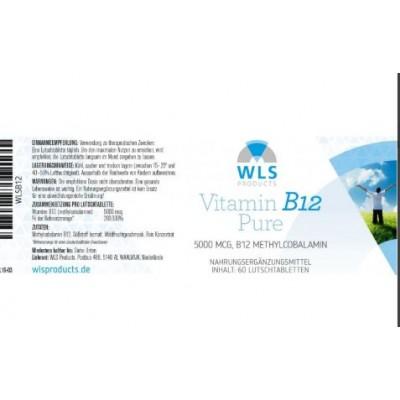 Βιταμίνη B12 5000 μικρογραμμάρια, υπογλώσσια δισκία