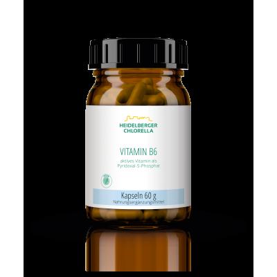 Βιταμίνη Β6 σε ενεργή μορφή 5 φωσφορική πυριδοξάλη, 120 κάψουλες Βιταμίνες
