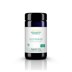 Πρωτόγαλα από πρόβειο γάλα Colostrum με βιταμίνη C - 55 κάψουλες - Heidelberger-Chlorella
