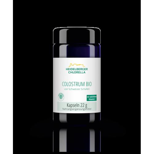 Πρωτόγαλα από πρόβειο γάλα Colostrum με βιταμίνη C - Heidelberger-Chlorella Βιταμίνες