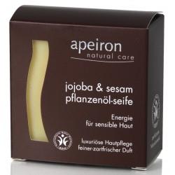 Σαπούνι – jojoba και σησαμέλαιο apeiron 100γρ.