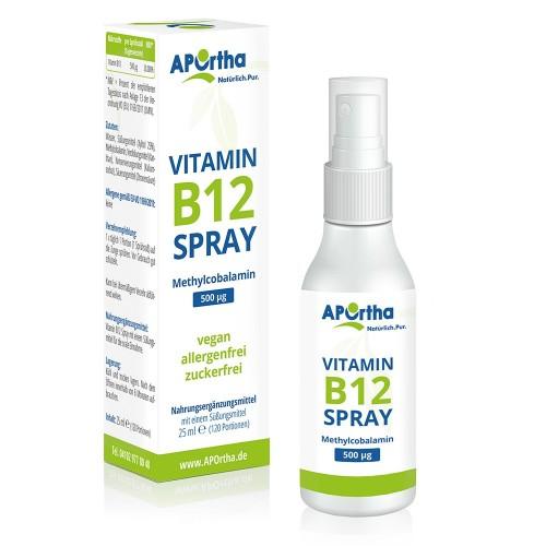 Βιταμίνης Β12 σε σπρέι - χωρίς ζάχαρη - μεθυλοκοβαλαμίνη