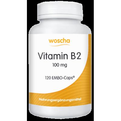 Βιταμίνη Β2 (ριβοφλαβίνη) , 120 κάψουλες, βίγκαν
