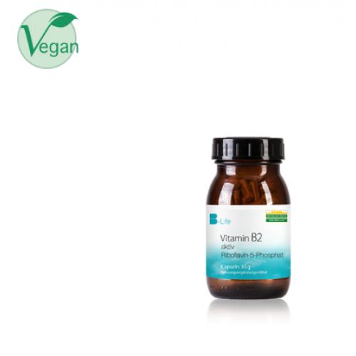 Βιταμίνη Β2 σε ενεργή μορφή, 60 κάψουλες   Βιταμίνες