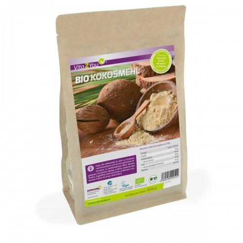 Αλεύρι αμυγδάλου 750γρ. Vita2You, 100% φυσικό και αποφλοιωμένα Βιολογικά Προϊόντα