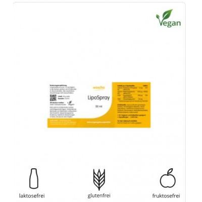 Βιταμίνη Β6, Β12 και φυλλικό οξύ σε σπρέι, 50 ml, Vegan