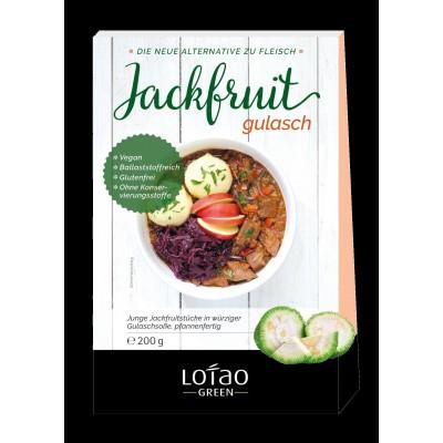 Jackfruit Gulasch φυτικό υποκατάστατο κρέατος) 6 κουτιά των 200γρ Βιολογικά Προϊόντα / Superfoods