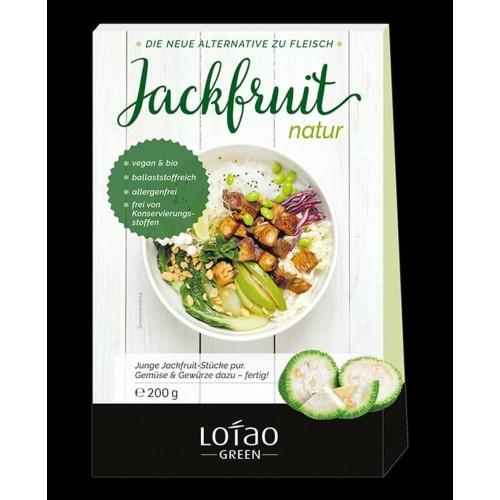 Jackfruit Natur (φυτικό υποκατάστατο κρέατος) 8 κουτιά των 200γρ  Βιολογικά Προϊόντα