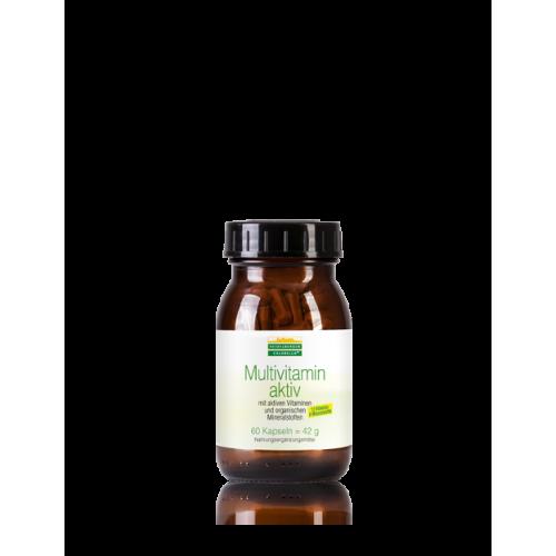Πολυβιταμίνες χωρίς προσθήκη ιωδίου,   Multivitamin aktiv – Heidelberger Chlorella, 60 κάψουλες Βιταμίνες