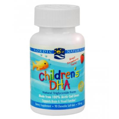 Ωμέγα 3 λιπαρά οξέα DHA για παιδιά - 90 κάψουλες Λιπαρά Οξέα