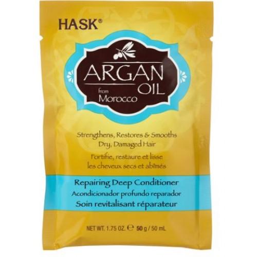 Μάσκα μαλλιών με αργανέλαιο, 7 φακελάκια των 50 ml