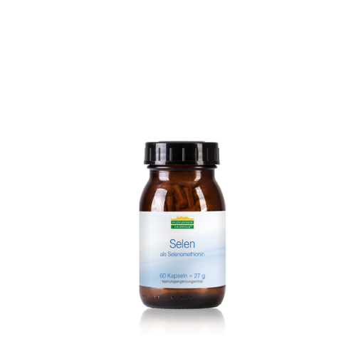 Σελήνιο σε οργανική μορφή, συνδεδεμένο με το αμινοξύ μεθειονίνη-120 κάψουλα – Selenomethionin-Heidelberger-Chlorella Βιταμίνες