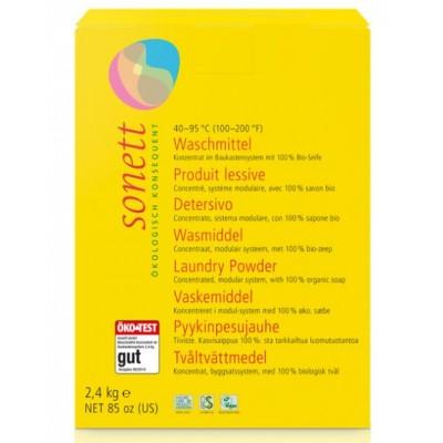 Σετ 2: Απορρυπαντικό σκόνη, 1,2 κιλά + Απορρυπαντικό υγρό 1 λίτρο + Αποσκληρυντικό νερού 1 κιλό -Sonett