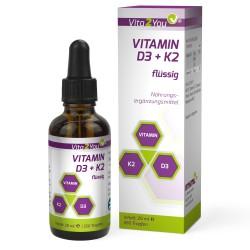 Βιταμίνη D3 και K2 σε σταγόνες για καλύτερη απορρόφηση
