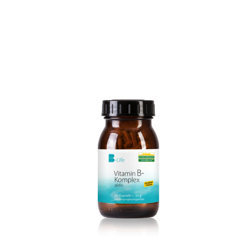 Βιταμίνες του συμπλέγματος Β,  Β-Komplex  - Heidelberger-Chlorella, 60 κάψουλες Βιταμίνες