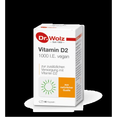 Βιταμίνη D2 1000 I.E. vegan
