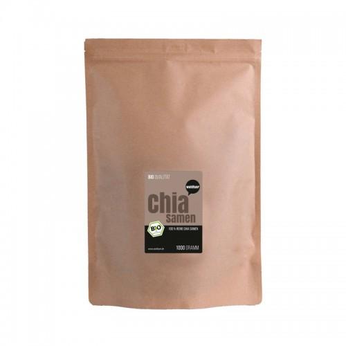 Βιολογικοί σπόροι chia, 1 κιλό.  Βιολογικά Προϊόντα