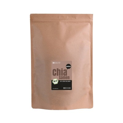 Βιολογικοί σπόροι chia, 500 γρ.  Βιολογικά Προϊόντα