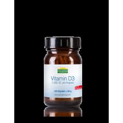 Βιταμίνη D3 - 120 κάψουλες – Heidelberger-Chlorella