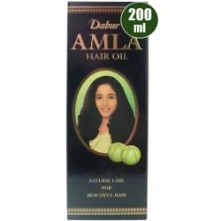 Iνδικό έλαιο μαλλιών Dabur Amla CLASSIC 200 ml (για σκούρα μαλλιά)
