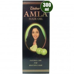 Ινδικό έλαιο μαλλιών Dabur Amla CLASSIC 300 ml (για σκούρα μαλλιά)