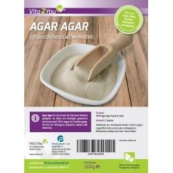 Αγαρ-Αγαρ 200γρ. φυτική ζελαντίνη σε σακουλάκι ζιπ