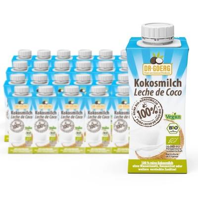 Γάλα καρύδας, βιολογικό, 24Χ200 ml