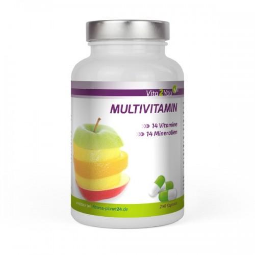 Multivitamin ΜΕ ΙΩΔΙΟ 240 κάψουλες 28 βιταμίνες και μέταλλα  Βιταμίνες
