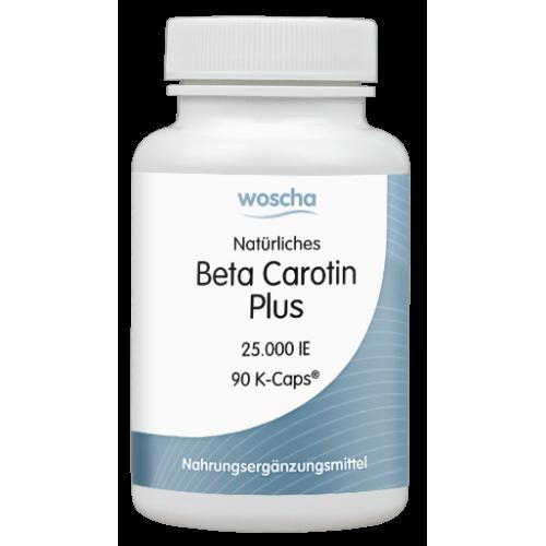 Βήτα Καροτίνη WOSCHA 90 κάψουλες  Βιταμίνες