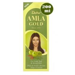 Iνδικό έλαιο μαλλιών Dabur Amla GOLD 200 ml (για ξανθά μαλλιά)