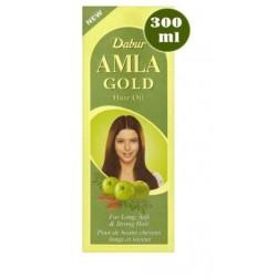 Ινδικό έλαιο μαλλιών Dabur Amla GOLD 300 ml (για ξανθά μαλλιά)