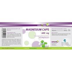 Μαγνήσιο 400 mg - 120 κάψουλες – Vita2You