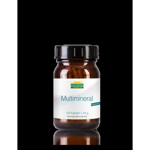 Multimineral 120 κάψουλες – Heidelberger-Chlorella Μέταλλα / Ιχνοστοιχεία