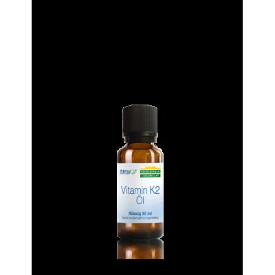 Βιταμίνη Κ2 σε υγρή μορφή (έλαιο) – 30 ml – Heidelberger-Chlorella Βιταμίνες