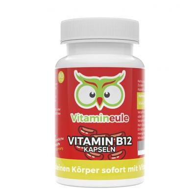 Βιταμίνη Β12 - 90 κάψουλες - Vegan